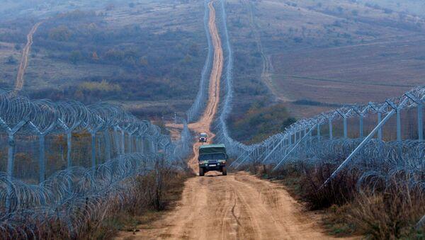 Državna granica ograđena žicom - Sputnik Srbija