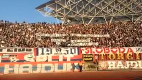 Фудбалска утакмица Хајдук-Динамо - Sputnik Србија