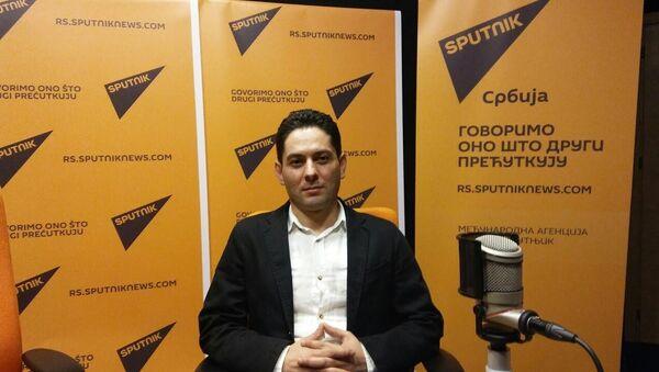 Lamak Kuder - predsednik Udruženja studenata iz Sirije u Srbiji - Sputnik Srbija