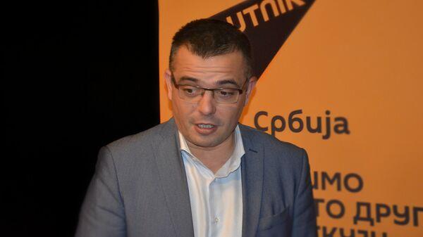Ministar poljoprivrede i zaštite životne sredine Branislav Nedimović  - Sputnik Srbija