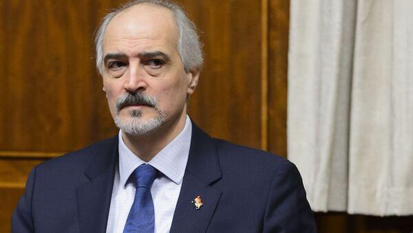 Stalni predstavnik Sirije u UN Bašar Džafari - Sputnik Srbija