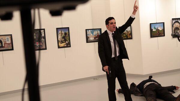 Čovek koji je napao ruskog ambasadora  Andreja Karlova u Turskoj, Ankara - Sputnik Srbija