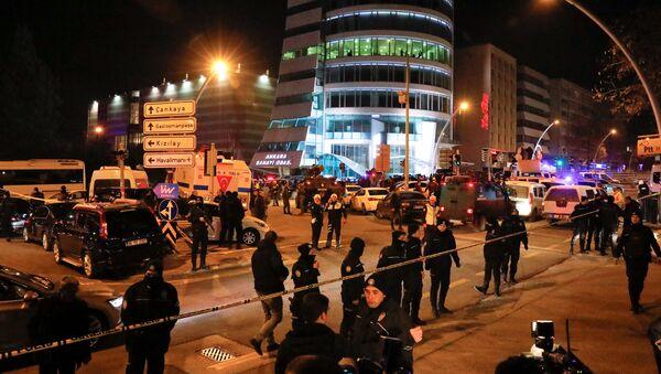 Situacija u Ankari posle napada na ambasadora Rusije Andreja Karlova - Sputnik Srbija