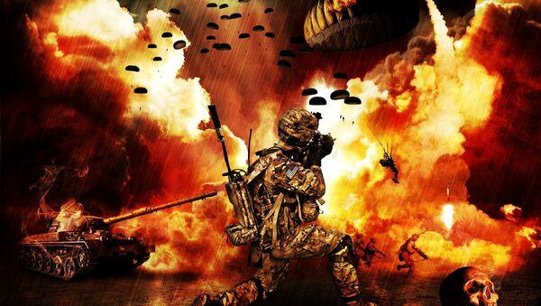 Svetski rat - ilustracija - Sputnik Srbija
