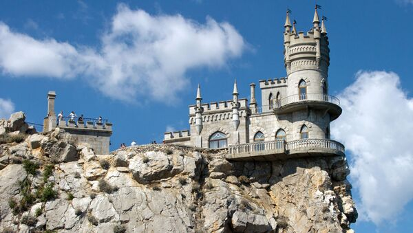 Zamak Lastočkino gnezdo na Krimu - Sputnik Srbija