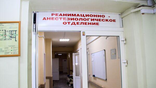 Одељење за реанимацију и анестезиологију Иркутске градске клинике - Sputnik Србија