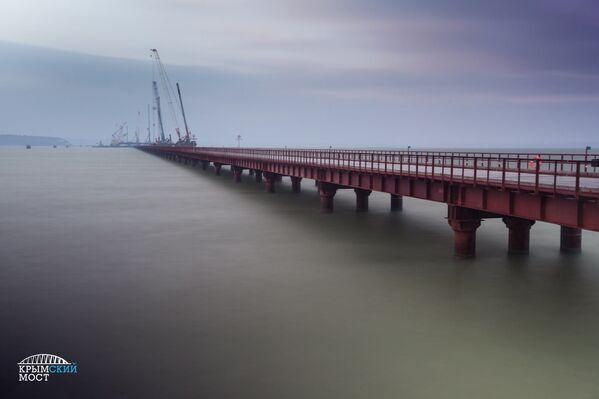 Izgradnja veka — Kerčki most na Krimu - Sputnik Srbija