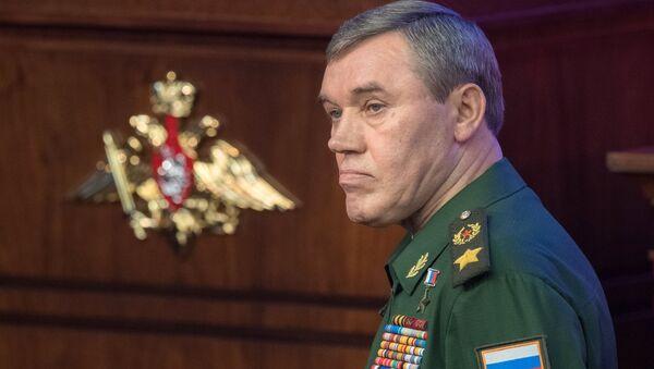 Načelnik ruskog Generalštaba general Valerij Gerasimov - Sputnik Srbija
