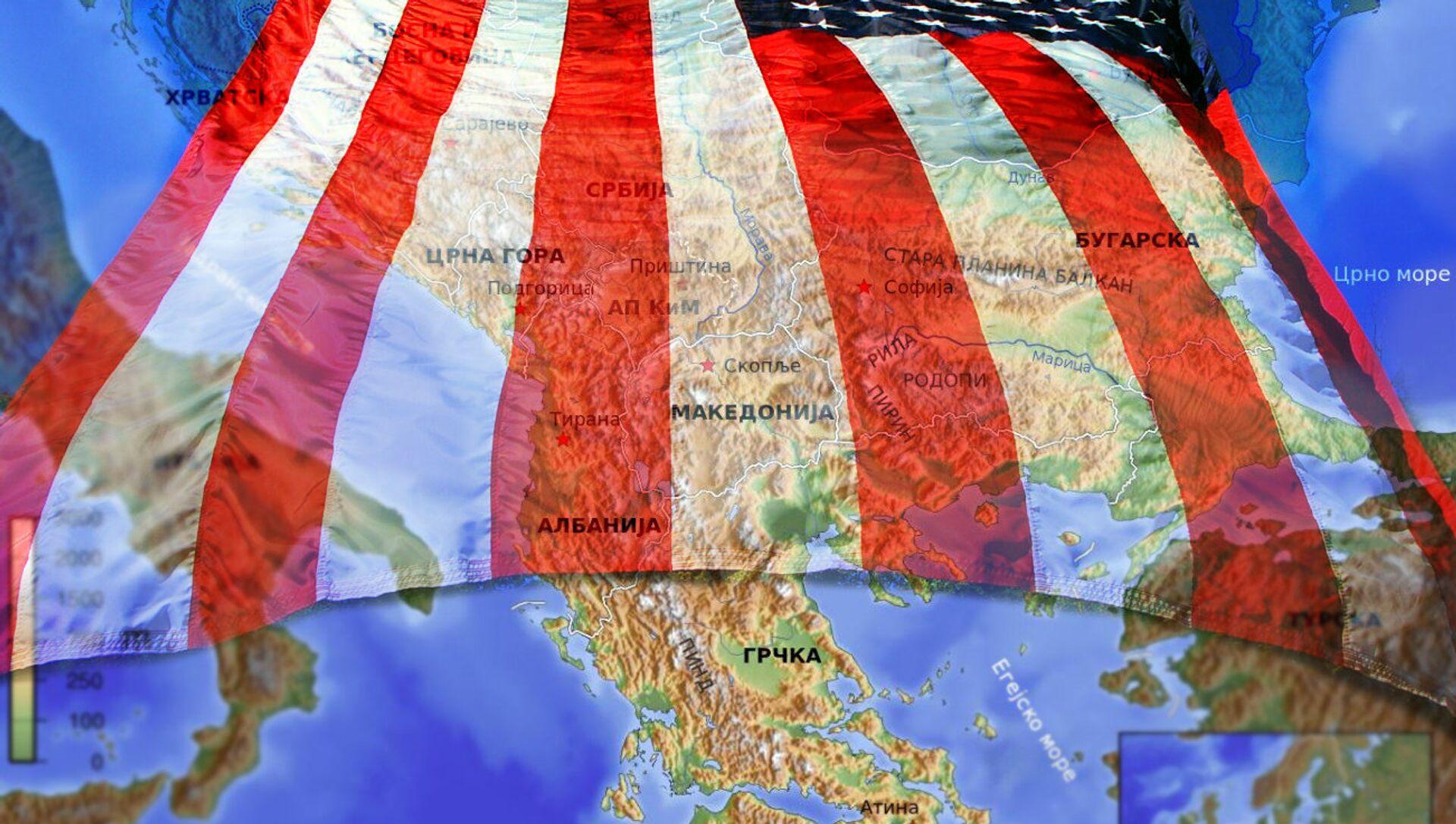 Балкан и утицај САД - Sputnik Србија, 1920, 10.06.2021