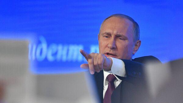 Прес-конференција председника Русије Владимира Путина - Sputnik Србија