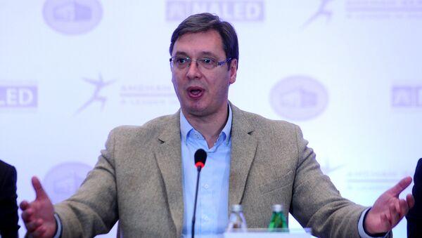 Premijer Srbije Aleksandar Vučić - Sputnik Srbija