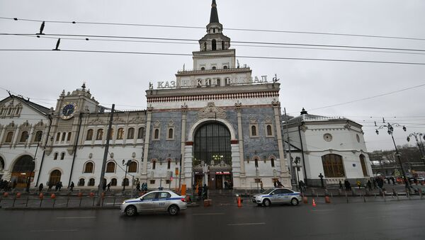 Железничкка стзаница Лењинградска у Москви - Sputnik Србија
