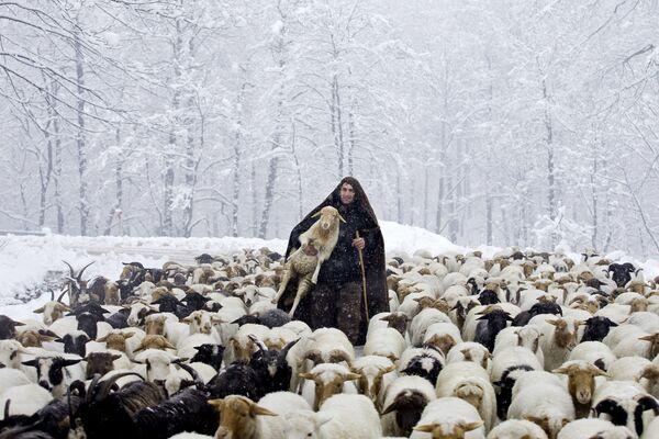 Zavejana sela u iranskim Tališkim planinama - Sputnik Srbija