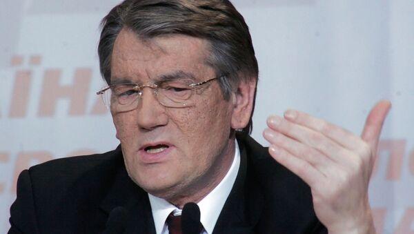 Viktor Juščenko, bivši predsednik Ukrajine - Sputnik Srbija