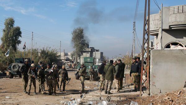 Iračke snage u istočnom Mosulu - Sputnik Srbija