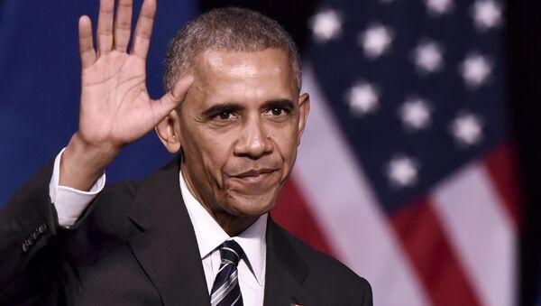 Амерички председник Барак Обама током посете Грчкој - Sputnik Србија