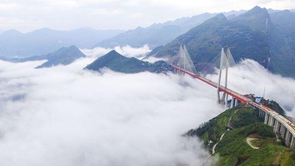 Поглед на мост Бипанђијанг у југозападној кинеској провинцији Гуижу - Sputnik Србија