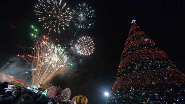 Doček Nove godine u Vladivostoku - Sputnik Srbija