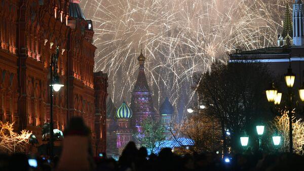 Crveni trg u Novoj godini - Sputnik Srbija