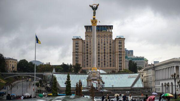 Trg nezavisnosti u Kijevu, Ukrajina - Sputnik Srbija