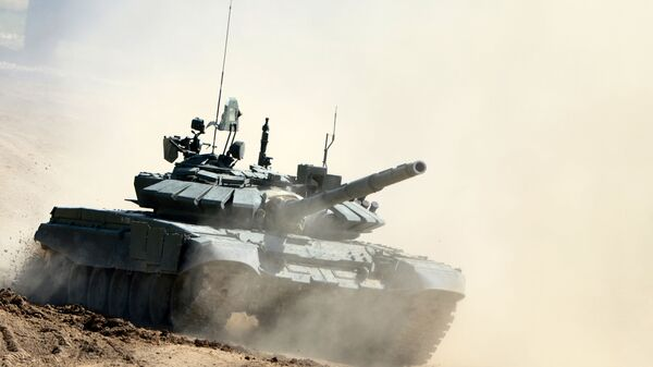 Ruski tenk T-72B3 - Sputnik Srbija