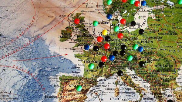 Mapa Evrope - Sputnik Srbija