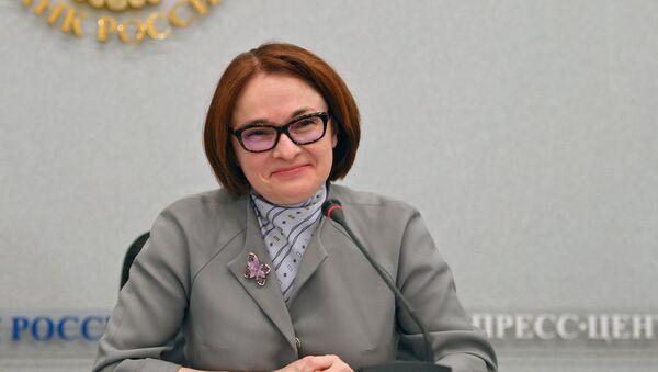 Ruska guvernerka Elvira Nabiulina - Sputnik Srbija