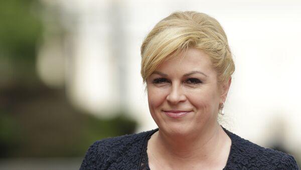 Hrvatska predsednica Kolinda Grabar Kitarević - Sputnik Srbija