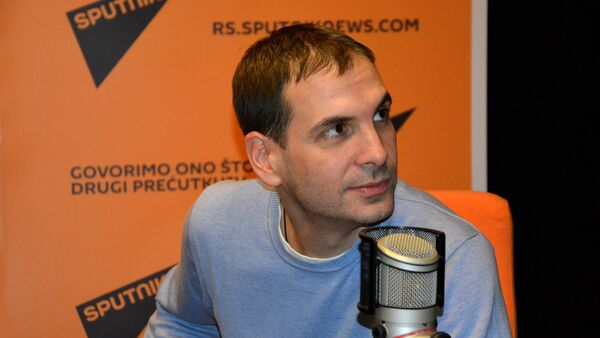 Miloš Jovanović, docent na Pravnom fakultetu Univerziteta u Beogradu - Sputnik Srbija