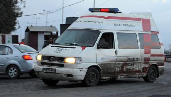 Ambulantna kola sirijskog Crvenog polumeseca - Sputnik Srbija