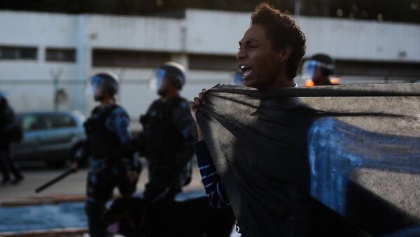 Протест у Бразилу-архивска - Sputnik Србија