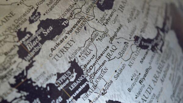 Mapa Bliskog istoka - Sputnik Srbija