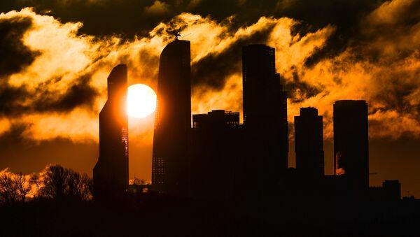 Zalazak sunca - Moskva siti - Sputnik Srbija