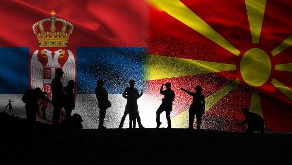 Србија и Македонија Илустрација - Sputnik Србија