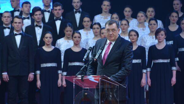 Milorad Dodik na Svečanoj akademiji povodom Dana Republike Srpske - Sputnik Srbija