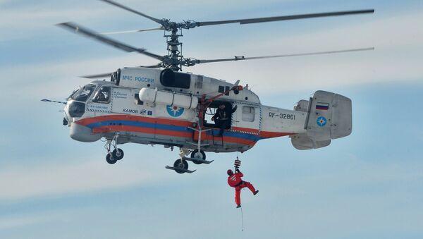 У ванредним ситуацијама хеликоптер је често једино превозно средство којим је могуће стићи до угрожених људи. - Sputnik Србија