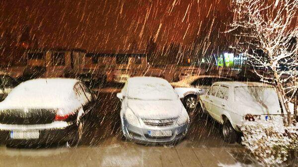 Снег у Бару - Sputnik Србија