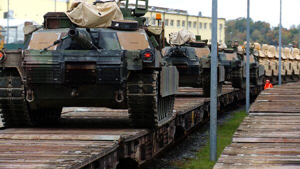 Амерички тенкови стижу у Пољску - Sputnik Србија