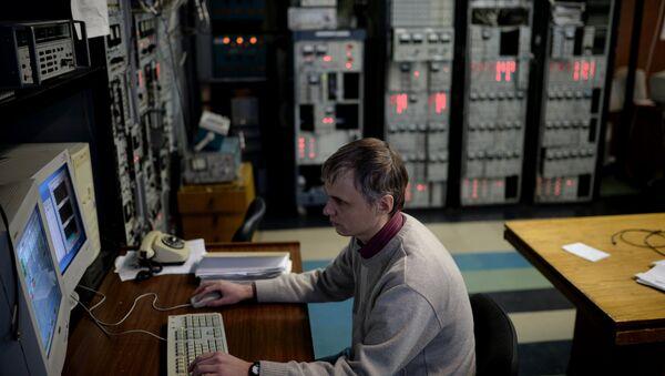 Eksperimentalni rad u Institutu za nuklearnu fiziku u Novosibirsku - Sputnik Srbija