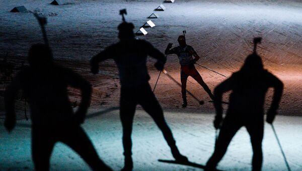 Такмичари на Светском првенству у бијатлону - Sputnik Србија