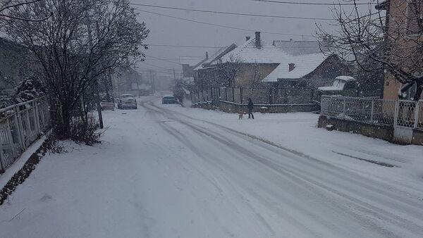 Зимски пејзаж у Власотинцима - Sputnik Србија