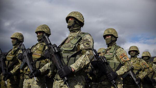 Pripadnici Kosovskih bezbednosnih snaga - Sputnik Srbija