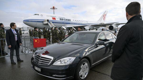 Predsednik Kine Si Điping u Davosu - Sputnik Srbija