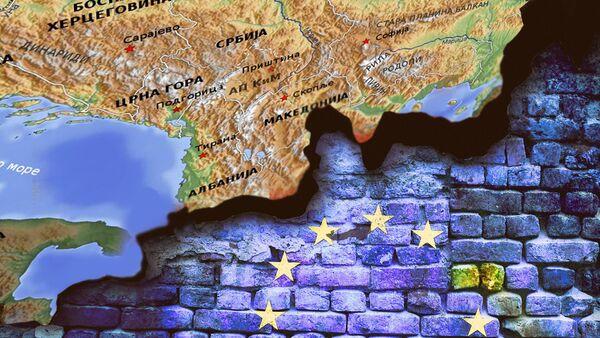 Balkan EU - ilustracija - Sputnik Srbija