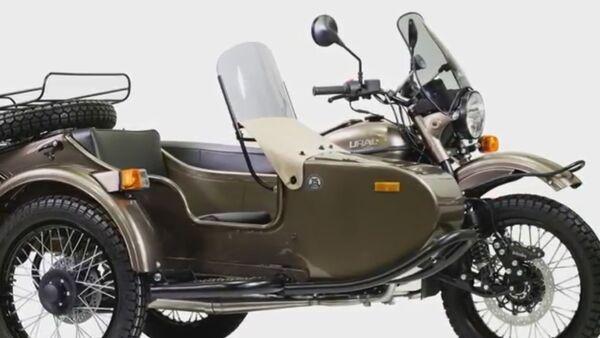 Motocikl Ural Ambasador - Sputnik Srbija