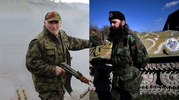 Pripadnik terorističke organizacije OVK i četnički vojnik - Sputnik Srbija