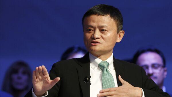 Direktor kompanije Alibaba Džek Ma na Svetskom ekonomskom forumu u Davosu - Sputnik Srbija