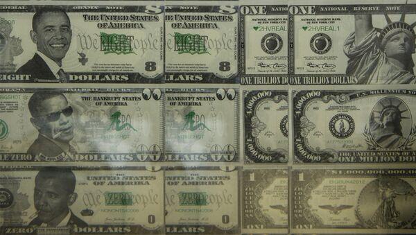 Барак Обама на новчаници долара - Sputnik Србија