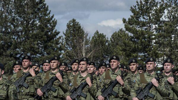 Vojska tzv. Kosova u Prištini - Sputnik Srbija