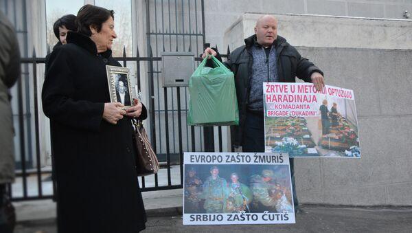 Uduženje kidnapovanih i nestalih Srba sa KiM doneli su 25 kg dokaza o zločinima Ramuša Haradinaja - Sputnik Srbija